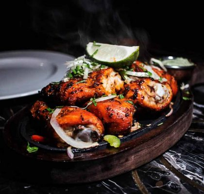 Tandoori Chicken at Tasty Indian Bistro | Hidden Gems Vancouver