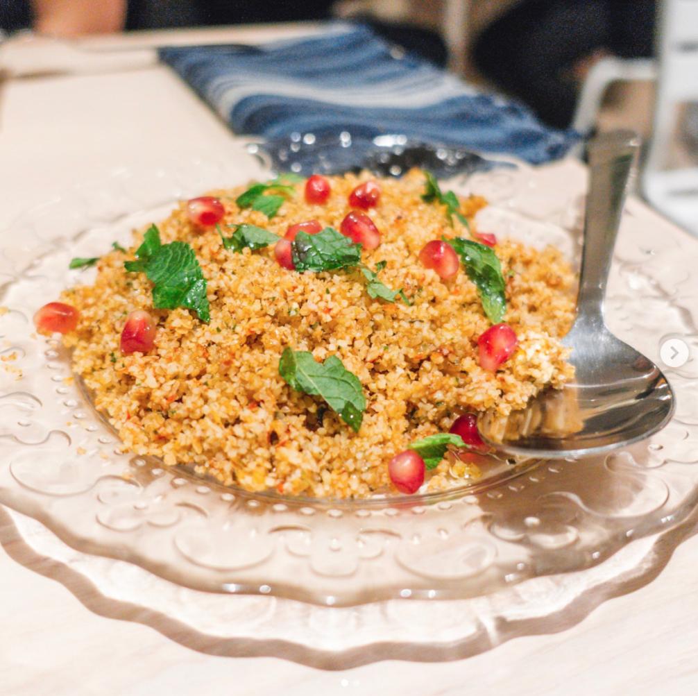 Tomato Kibbeh at Aleph Eatery