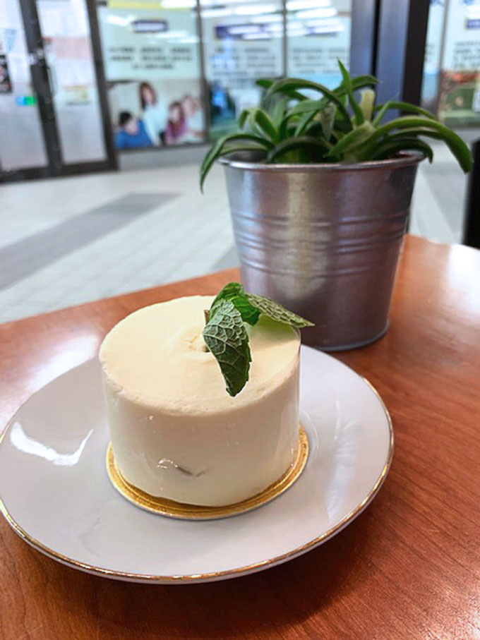 Yuzu lemon poppyseed cream cake | Fresh Press Coffee Bar | Richmond