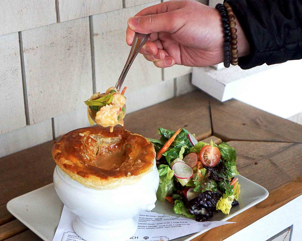 Lobster Pot Pie at Seahorse Grill | Hidden Gems Vancouver