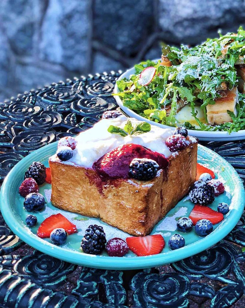 Maple French Toast at Sweets & Beans | Hidden Gems Vancouver