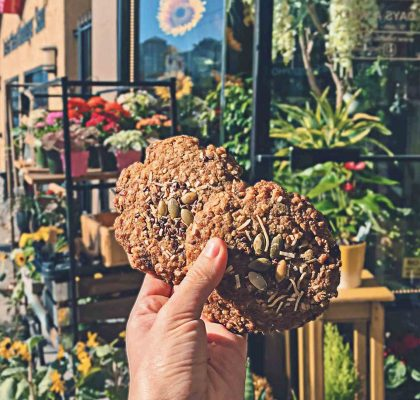 Vegan Tree Hugger Cookie at Aperture Coffee Bar | Hidden Gems Vancouver