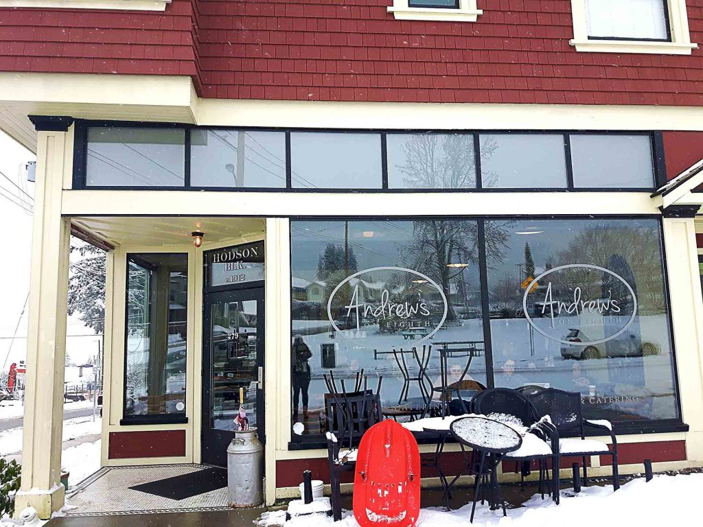 Andrews on 8th - Vancouver Local Coffee Shop - North Vancouver - Vancouver