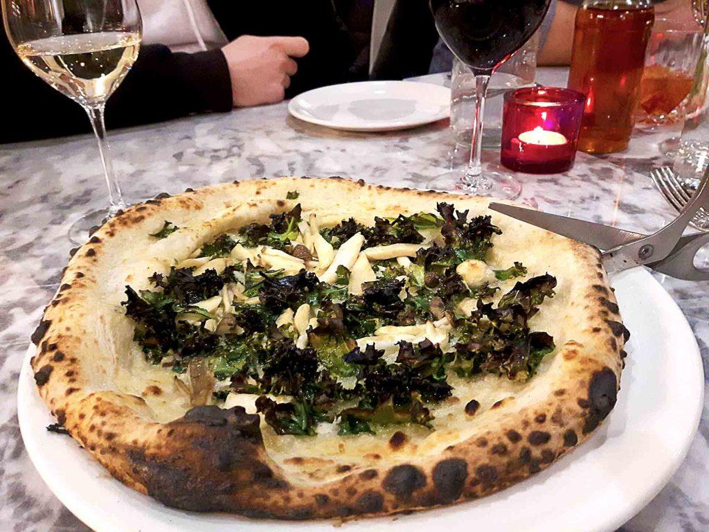 Cavolo Nero e Funghi at Nicli Antica Pizzeria | Hidden Gems Vancouver