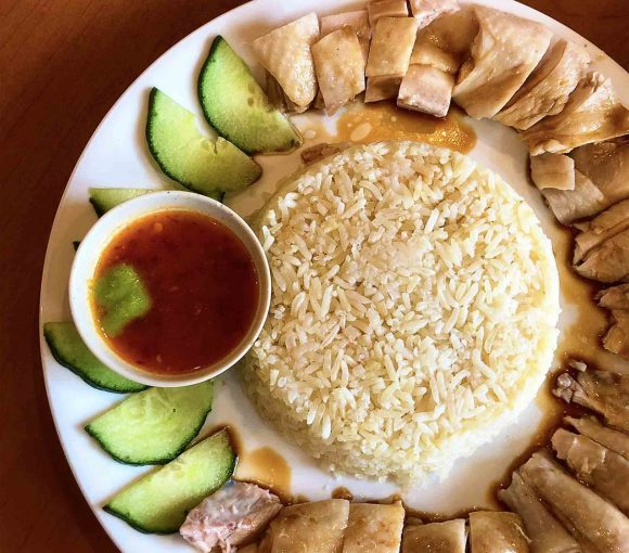 Hainanese Chicken Rice at Mamalee Malaysian Delight   Hidden Gems Vancouver